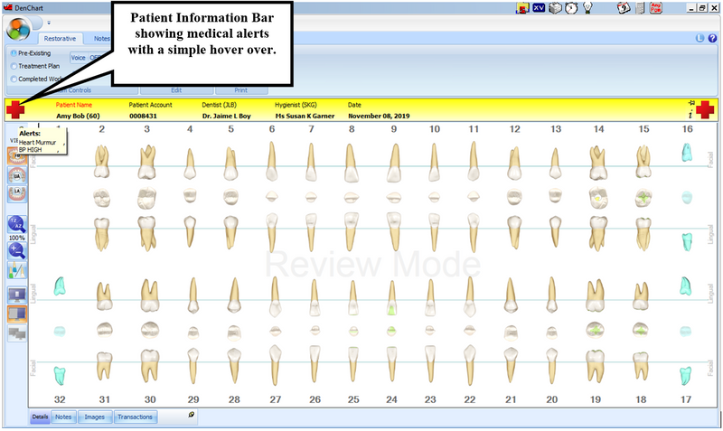 Medical Alerts Integration with DenChart