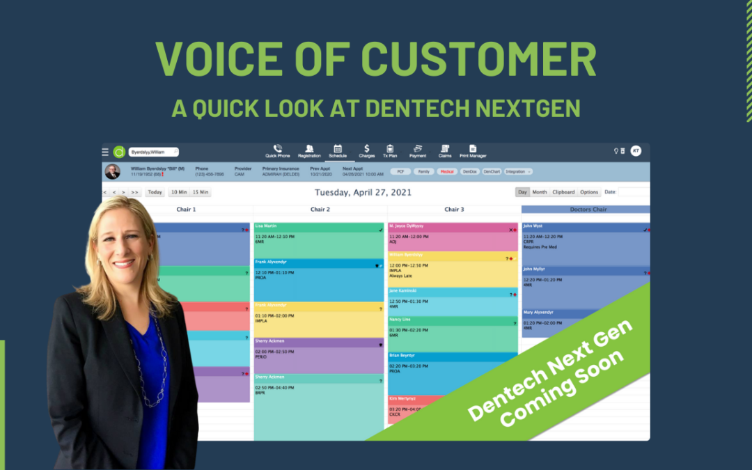 Sliding Into The New Dentech – Options, Menu, Search, and More!